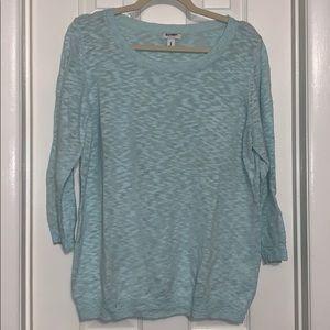 Old Navy mint green spring lightweight sweater xl